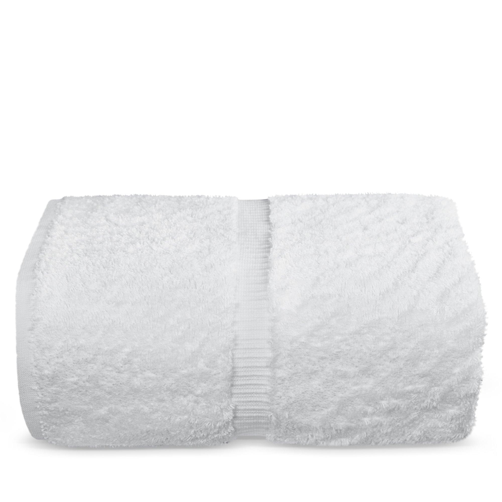 Indulge Linen Bath Sheets, 100% Turkish Cotton (White, Standard (35x70 inches) - Set of 1)