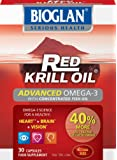 Bioglan Red Krill Oil + Fish Oil Capsules - Pack of 30