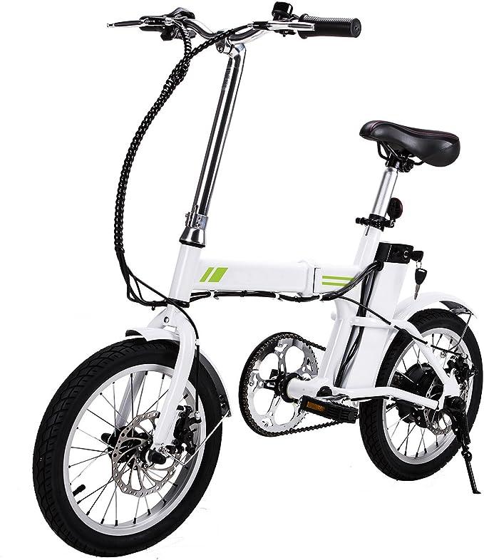 tomasa S Bike eléctrico de bicicleta mountain bike 16 pulgadas ...