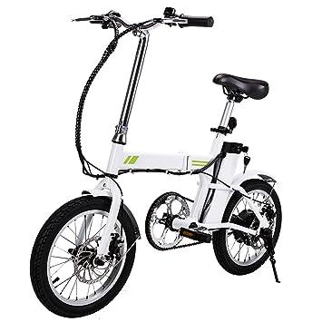Mini Falten Roller E-bike Tragbare Faltbare Elektrische Fahrrad Fahrrad Bürstenlosen Motor Lithium-batterie Leichte Elektro-scooter Rollschuhe, Skateboards Und Roller