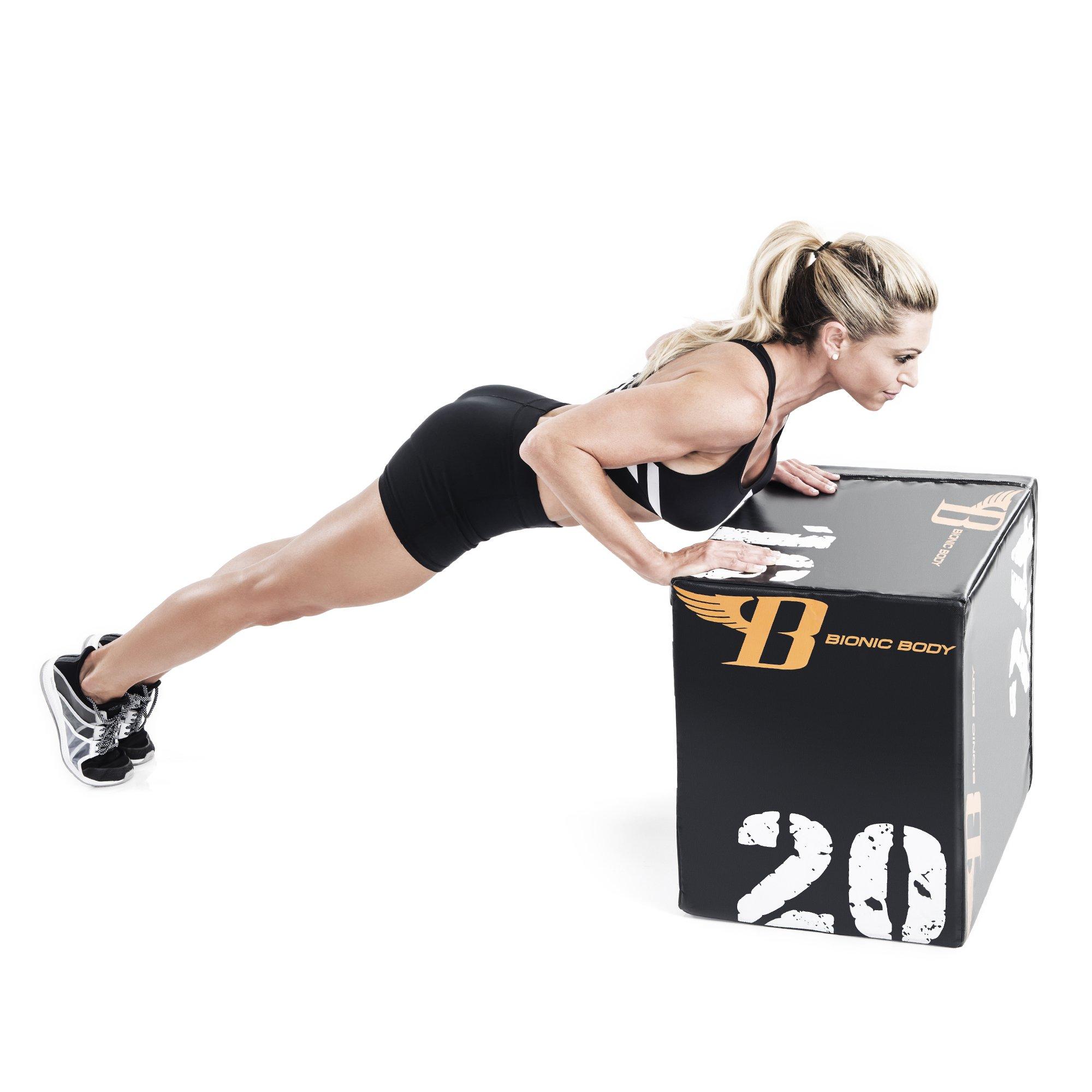 Bionic Body Plyo Exercise Box Plyometric Box with Soft Cover BBPB-1106 by Bionic Body (Image #3)