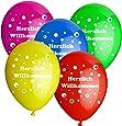 10 luftballons d 30cm helium geeignet herzlich willkommen spielzeug. Black Bedroom Furniture Sets. Home Design Ideas