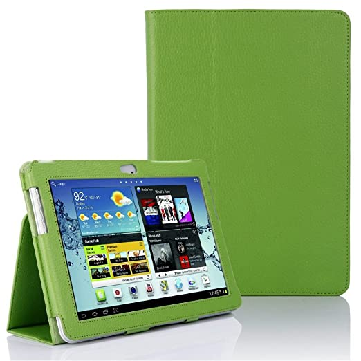 18 opinioni per Custodia eco pelle per Samsung Galaxy Tab 2 10.1 GT P5100 P5110 Portfolio Tablet