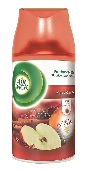 48 opinioni per Air Wick Fresh Matic Ricarica Spray Automatico, Mela e Cannella- 2 pezzi da 250