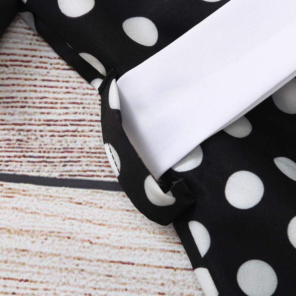 Mcys Baby Kleinkind Sommer Mädchen Vintage Kleid Polka Dot