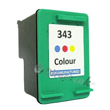 HP 343 Color Cartucho de tinta remanufacturado para Deskjet 5945 ...