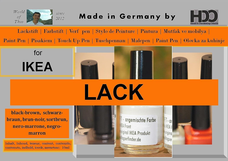 Crayon De Retouche Pour Peinture Ikea Noir Marron Amazon Ca Office Products