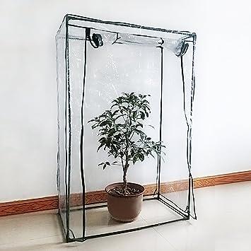 Serre Mini plante Coque Tomate Tente de jardin en PVC Vert Maison ...