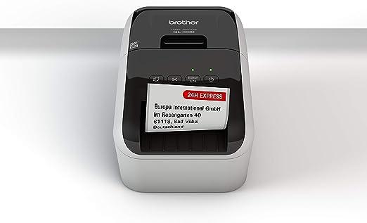 Brother QL-800 - Impresora de Etiquetas (USB 2.0, Cortador ...