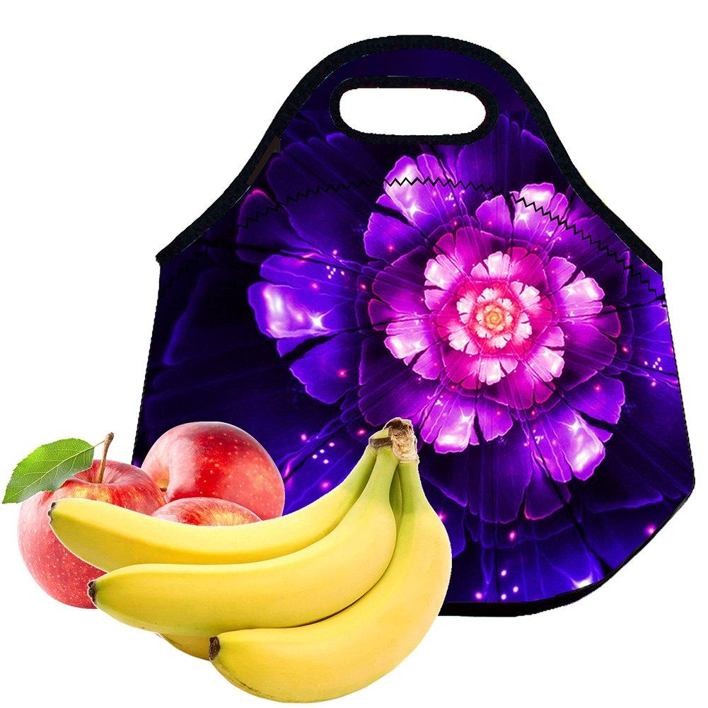 Neoprene Lunch Bag Tote Handbag lunchbox Food Container For Kids Boys Girls Women Men