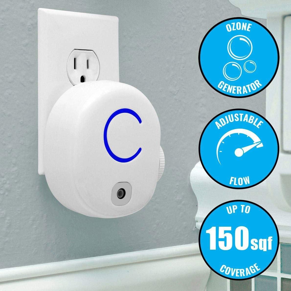 HW Purificador de Aire portátil de Eliminar el Olor Plug-in iónico ...