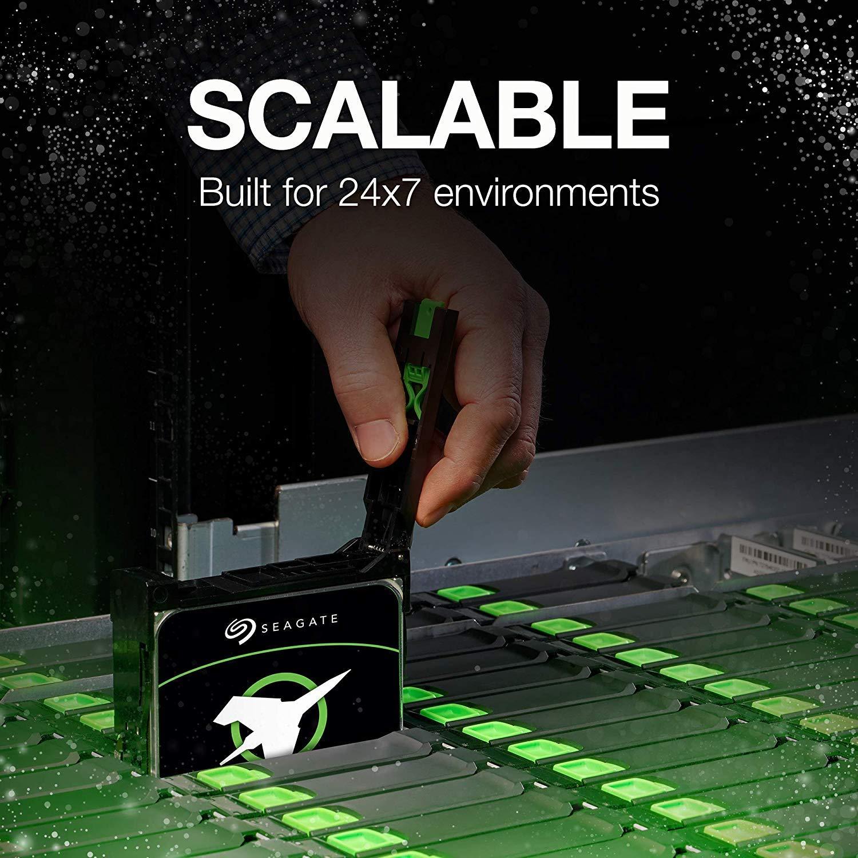 Seagate Exos X16 14TB 7200 RPM SATA 6Gb//s 256MB Cache 3.5-Inch Internal Data Center HDD Enterprise Hard Drive ST14000NM001G