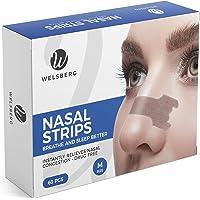 Welsberg 60x tiras nasales contra los ronquidos tiritas