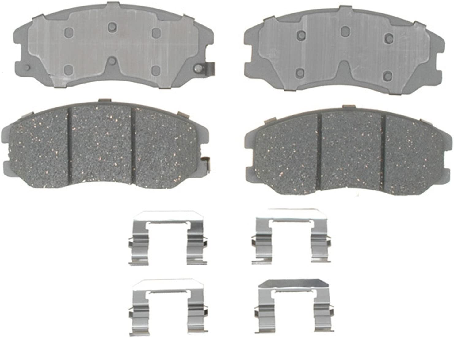 Disc Brake Pad Set-Ceramic Disc Brake Pad Front ACDelco Advantage 14D369CH