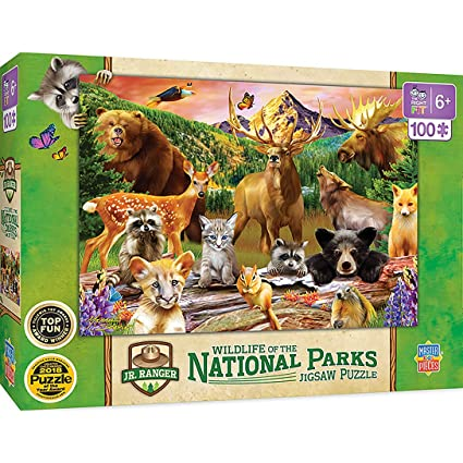 MasterPieces National Parks 100 Piece Kids Puzzle