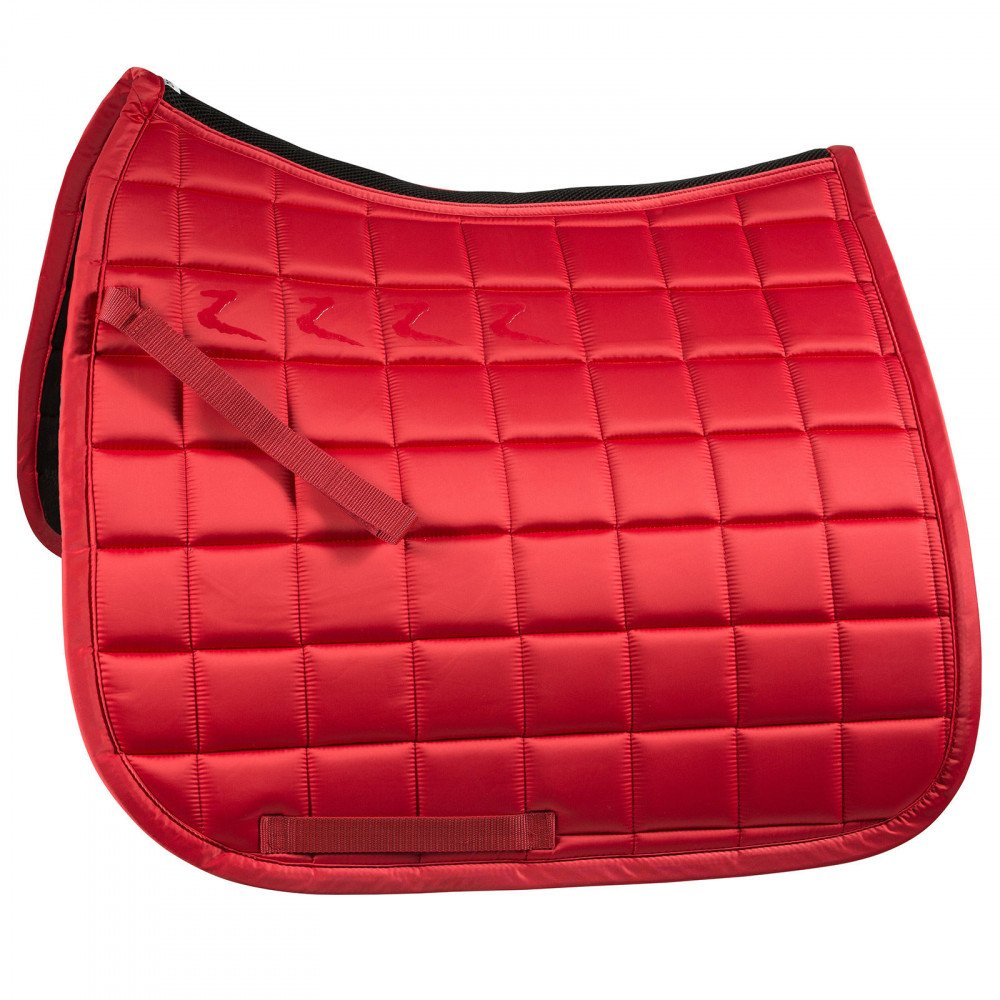 Fiery Red Pony Fiery Red Pony Horze Quintus Dressage Saddle Pad with Quick Dry Lining & Anti Slip Silicone