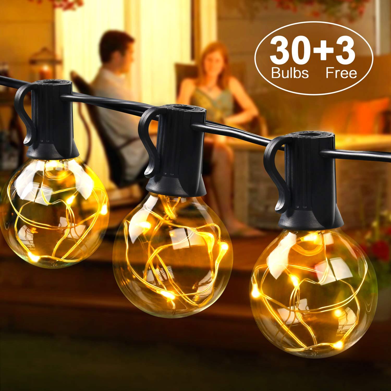 Stecker Für Weihnachtsbeleuchtung.Mycarbon Led Lichterkette Au ßen Mit Stecker Weihnachten