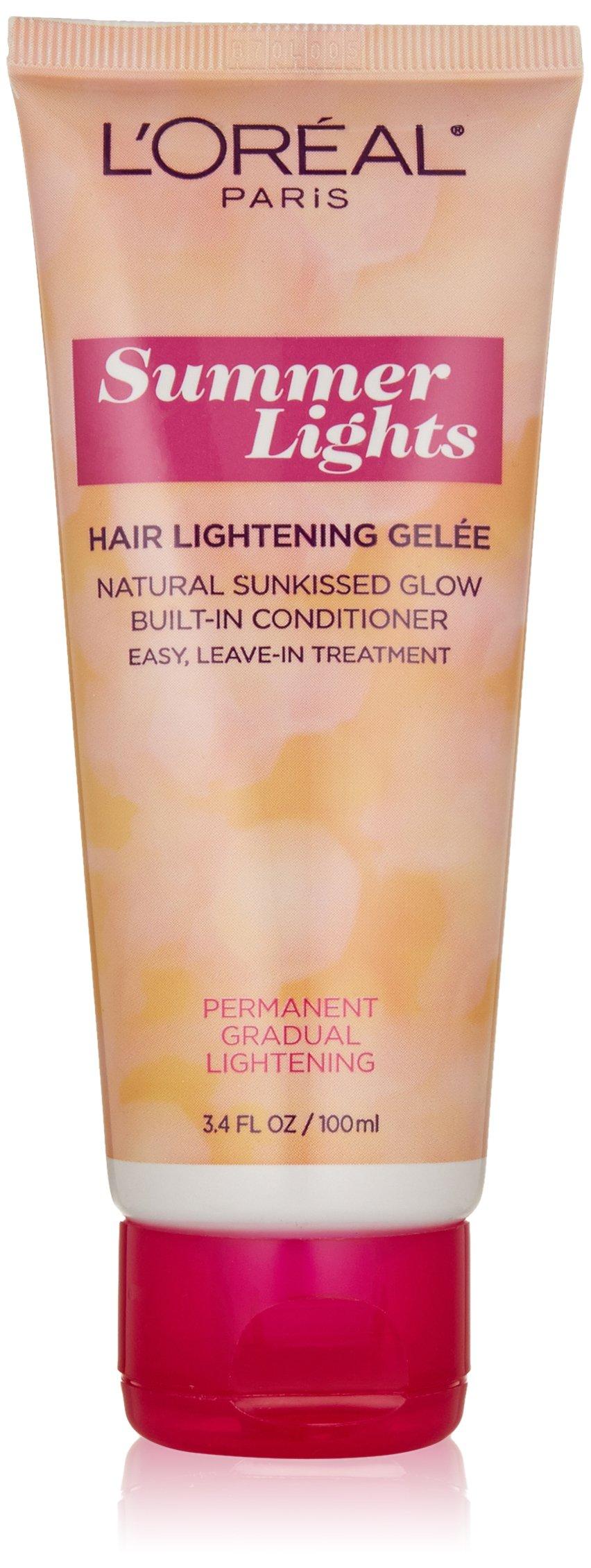L'Oreal Paris Summer Lights Hair Lightening Gelee, Light Blonde to Dark Blo