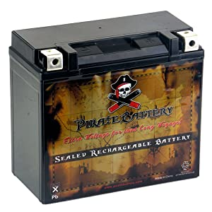 Pirate Battery YTX20L