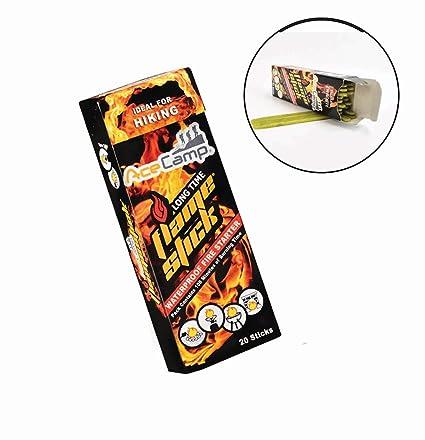 Amazon.com: AceCamp 3510 – Flamestick (20 unidades), color ...