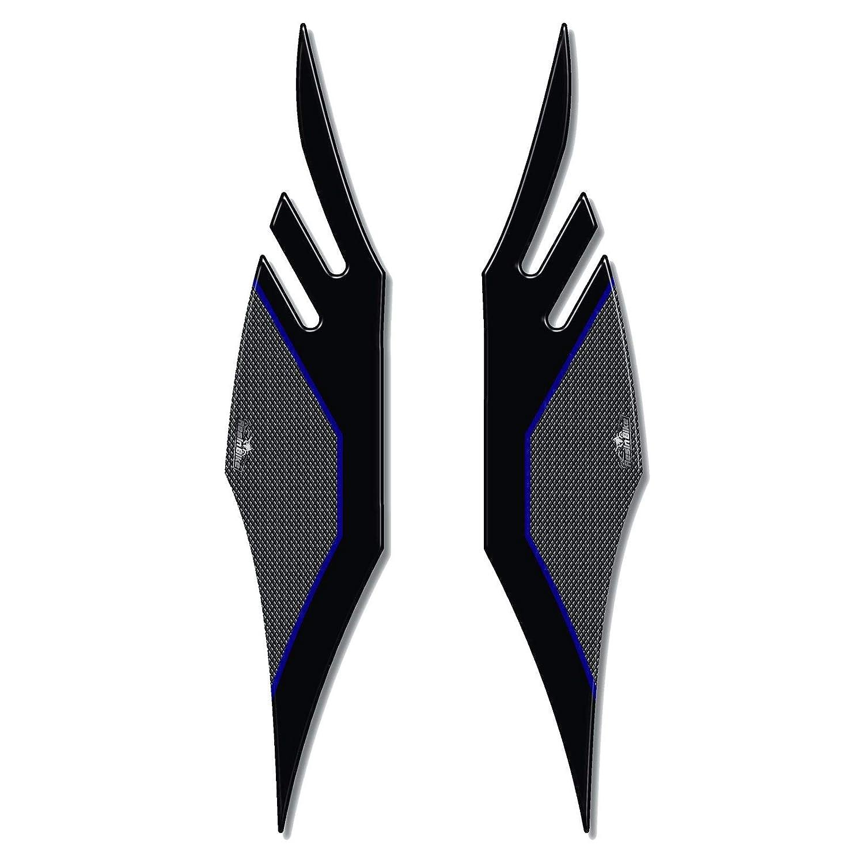 Adesivi 3d Protezioni Pedana 01 Compatibili Con Kymco Xciting 400s 2019