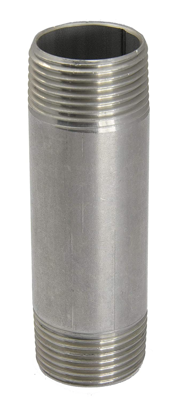 Rohrdoppelnippel R 1//4-70 mm 20 bar Material Edelstahl