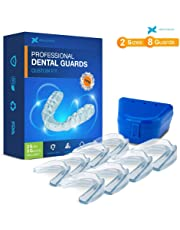 Professional Dental Guard - Pack of 8 - New Upgraded Anti Grinding Dental Night Guard, Stops Bruxism, Tmj & Eliminates Teeth Clenching, 100% Satisfaction Guarantee