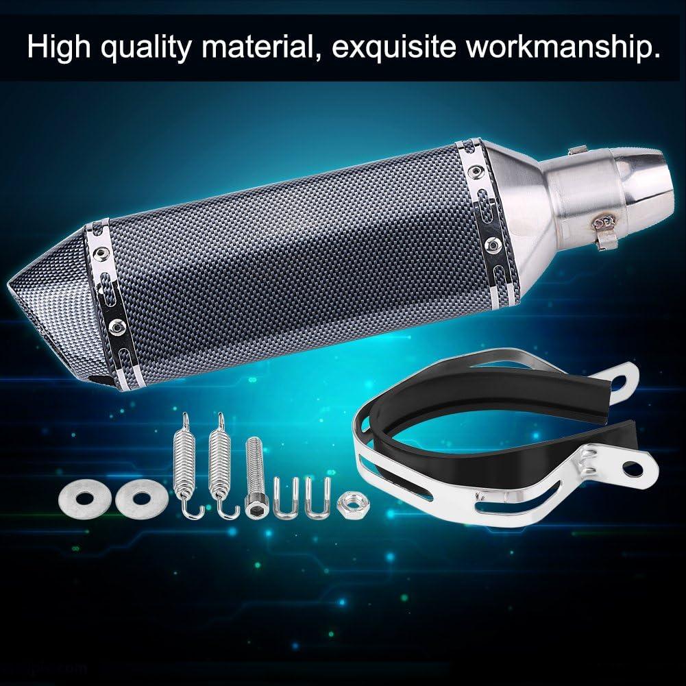 B tuyau de silencieux d/échappement modifi/é pour moto universelle avec DB Killer Silencieux de tuyau d/échappement de moto