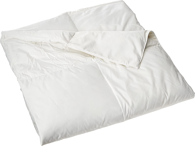 Blue Ridge Home Fashions Microfiber Natural Feather Down Fiber Blend Comforter - Full/Queen