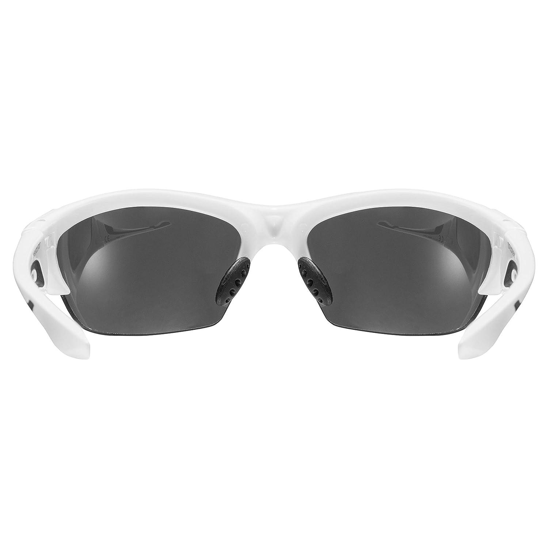 Uvex Blaze 3 Gafas de Sol, Unisex Adulto, Blanco, Talla Única: Amazon.es: Deportes y aire libre
