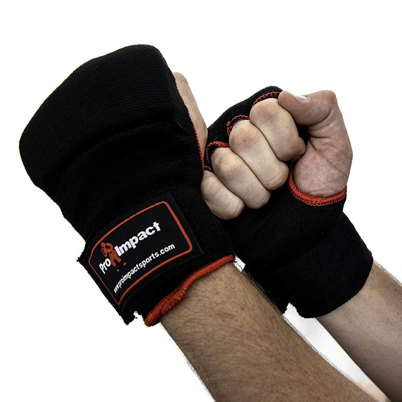 Pro Impact guante de boxeo MMA protectores grandes 1par