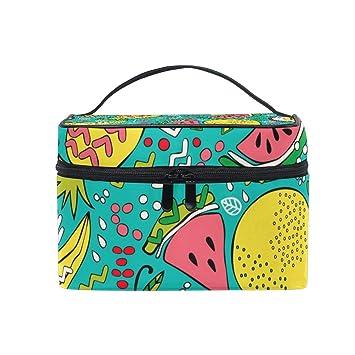 Amazon.com: Bolsa de maquillaje divertida con diseño de ...
