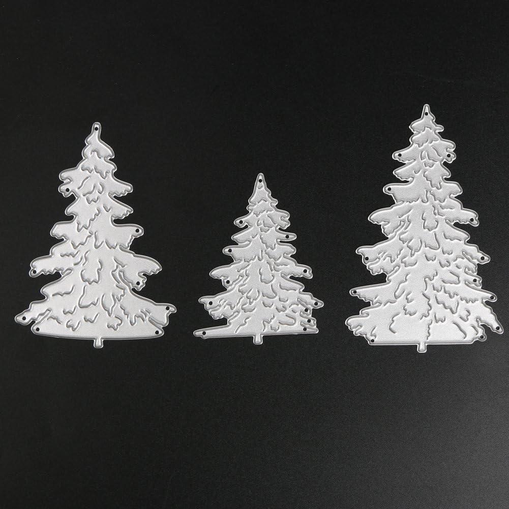 Weihnachtsbaum Metall Stanzformen Schablone Scrapbooking Fotoalbum Papierka P7E7