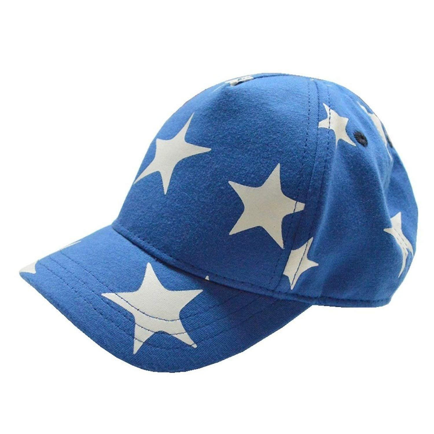 UQ Kids Cute Stars Cotton Adjustable Baseball Hats Sun Visors