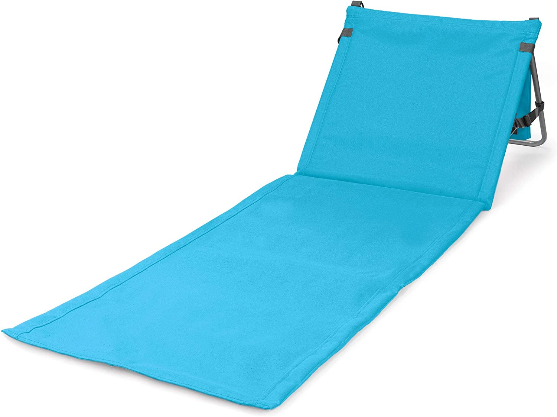ONIVA - a Picnic Time Brand Beachcomber Portable Beach Mat, Blue