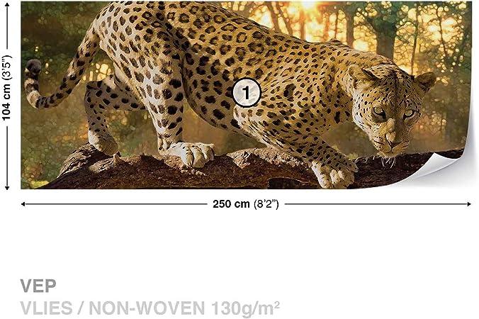 242WS WALL MURAL PHOTO WALLPAPER XXL Leopard