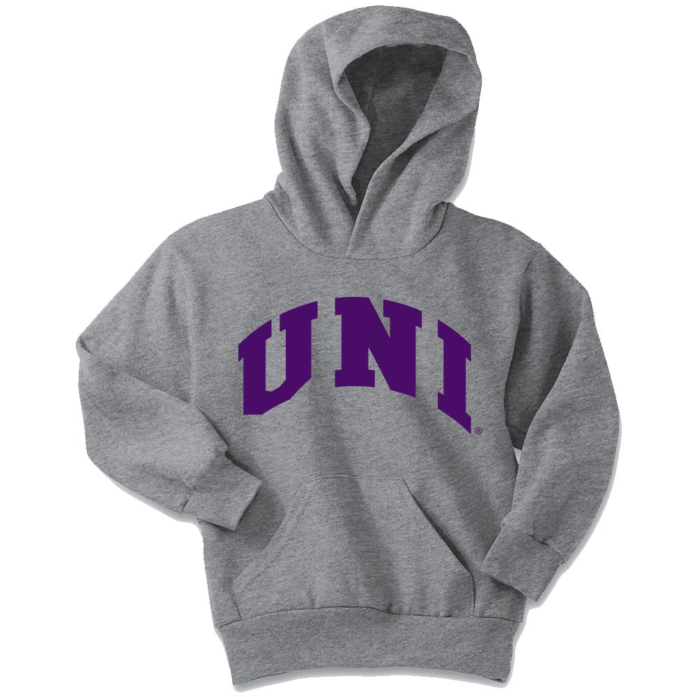 Athletic Heather Small NCAA Youth Hoodie