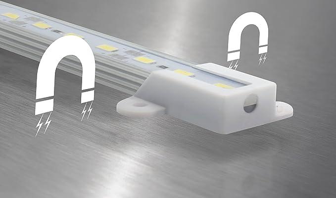 Lámpara de acuario LED Universum Leduaql506000, protegida contra salpicaduras, 50 cm, 6000 K, 1200 lm, 9 W: Amazon.es: Iluminación