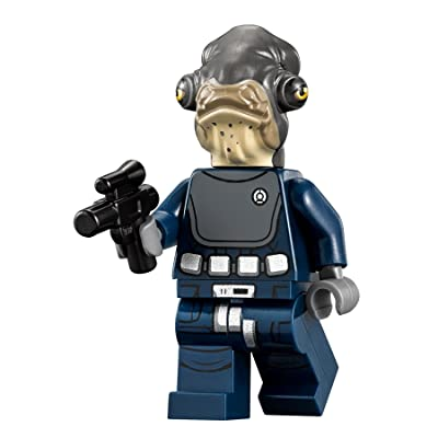 LEGO Star Wars: Rogue One MiniFigure - Admiral Raddus (75172): Toys & Games