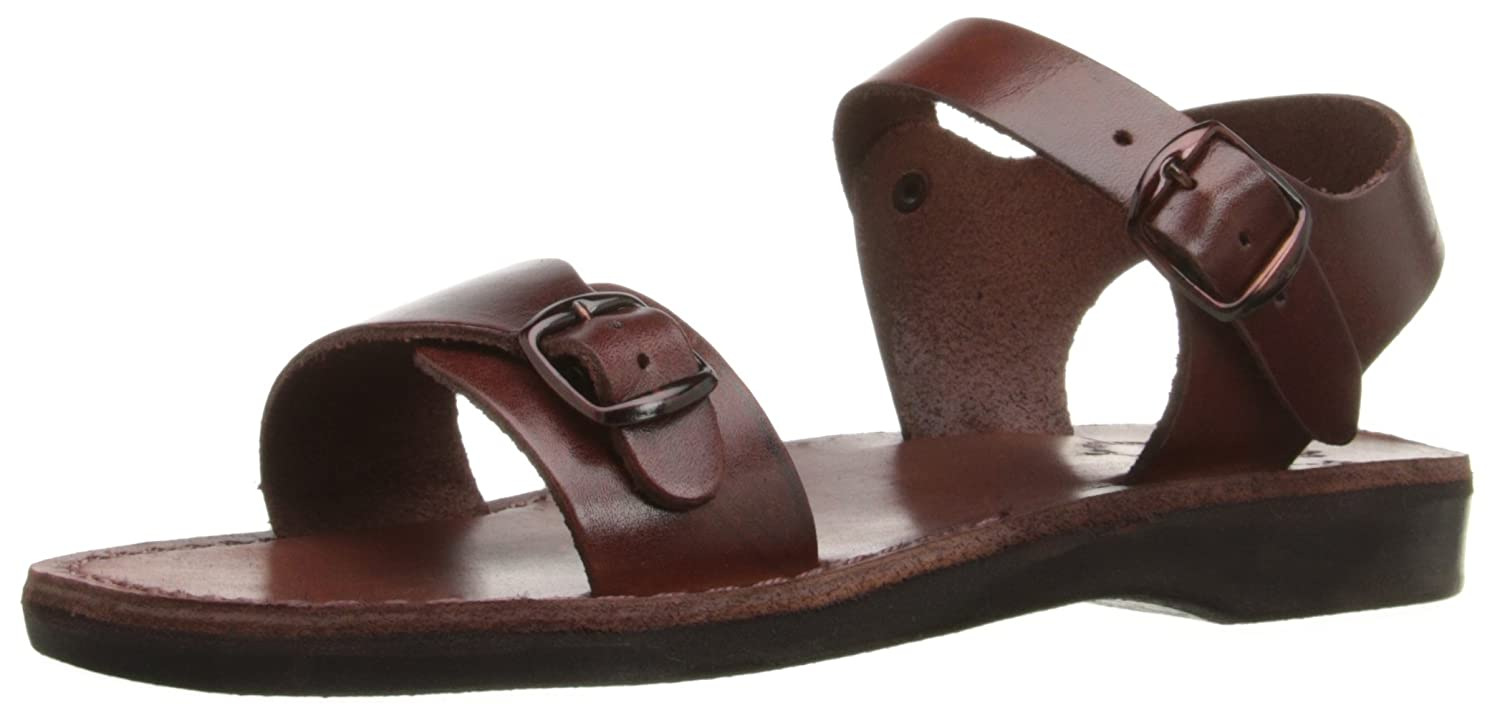 Jerusalem Sandals Women's The Original Rubber Gladiator B00PXKHYVA 40 M EU / 9 B(M) US|Brown