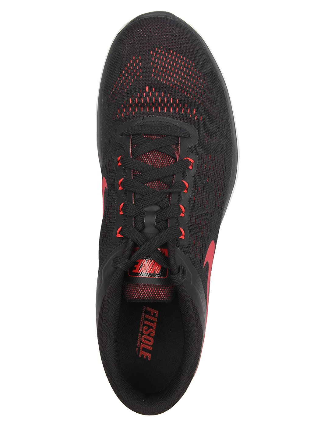 NIKE Men's Flex 2014 RN Running Shoe B01CITM2VU 10 D(M) US|Black/University Red/Ember Glow/White