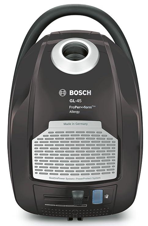 Bosch BGL45500 ProPer>>formPlus - Aspirador con bolsa AAAA, 700 W, filtro HEPA H13 lavable (recomendado para alérgicos), sistema PowerProtect, color ...