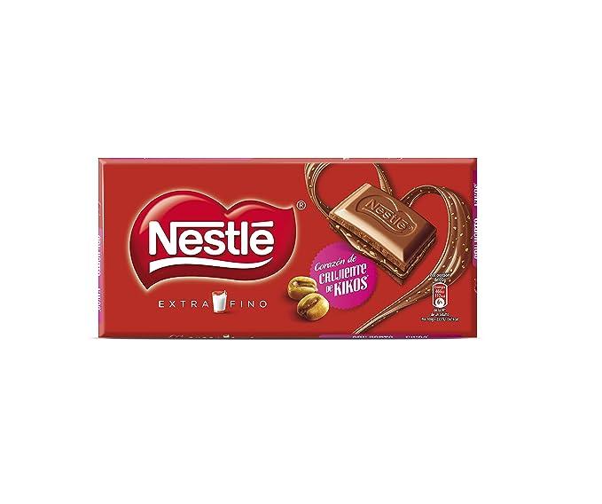 Nestlé Extrafino Chocolate con leche extrafino relleno de praliné de avellanas con maíz tostado - 120