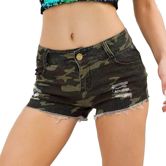 Vectry Vaqueros Cortos Mujer Vaqueros Rotos Mujer Pantalones Cortos Casuales Pantalones De Verano Leggins Mujer Vaqueros