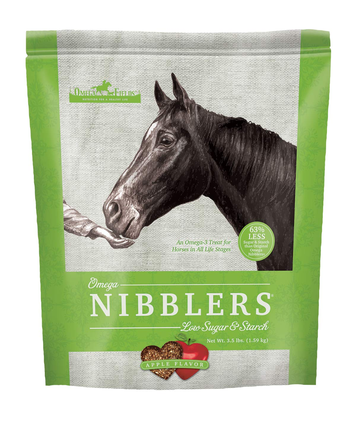 Omega Nibblers Low Sugar & Starch, 3.5 lb by Omega