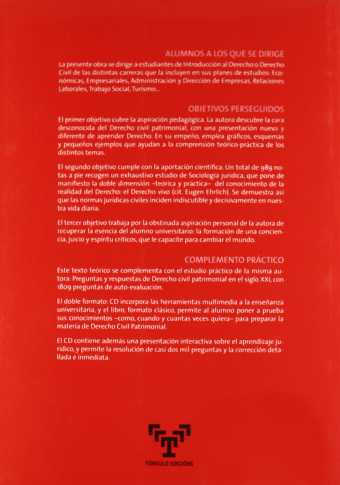 Derecho civil patrimonial: Amazon.es: Fisac de Ron, Mª Paloma ...