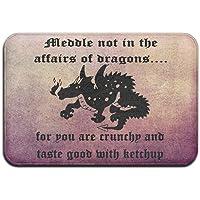 Meddle Not In The Affairs Of Dragons Door Mats Outdoor Mats