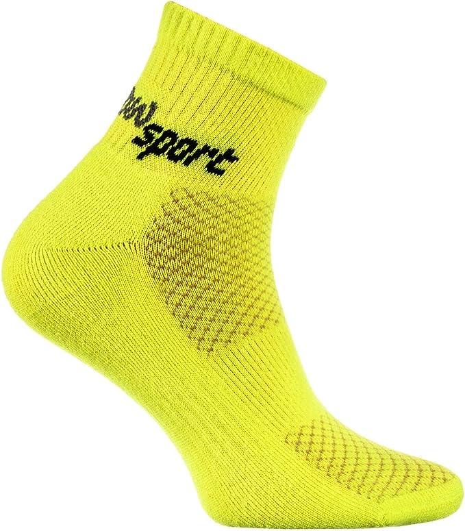 Rainbow Socks - Hombre Mujer Calcetines de Deporte Neon: Amazon.es ...
