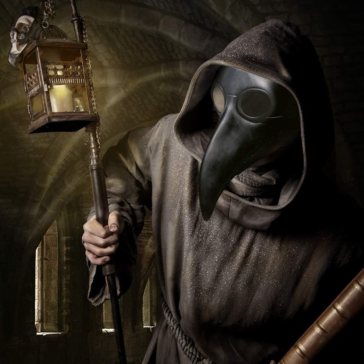 Amazon.com: Townshine - Máscara de látex para disfraz de ...