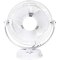 Enamic UK Happy Home || Laurels || All Purpose 3 in 1 Fan (Wall, Table and Ceiling || 12 Inches || ISI Approved Copper Motor || 1 Year Warranty || White K-34